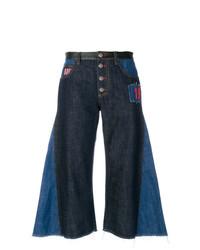 Gonna pantalone di jeans blu scuro di Sonia Rykiel
