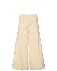 Gonna pantalone marrone chiaro di Vince