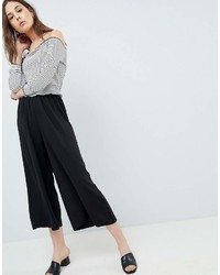 Gonna pantalone nera di Asos