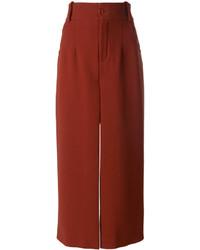Gonna pantalone rossa di Chloé