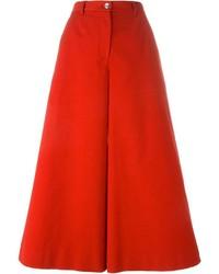 Gonna pantalone rossa di Dolce & Gabbana