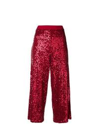 Gonna pantalone rossa di P.A.R.O.S.H.