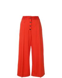 Gonna pantalone rossa di Proenza Schouler