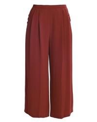 Gonna pantalone rossa di Topshop