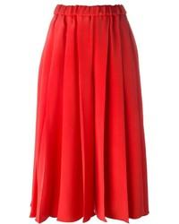 Gonna pantalone rossa di Victoria Beckham