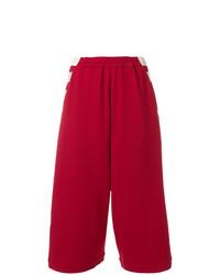 Gonna pantalone rossa di Y-3