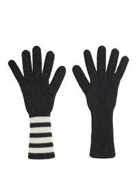 Guanti grigio scuro di Thom Browne