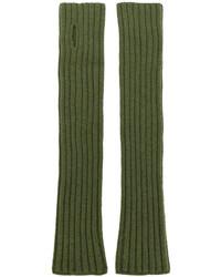Guanti verde oliva di Balmain