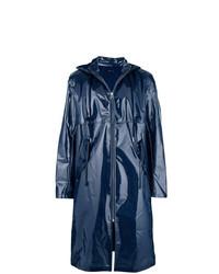 Impermeabile blu scuro di Helmut Lang