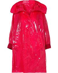 Impermeabile rosso di Moncler
