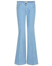 Jeans a campana azzurri