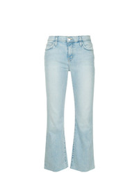Jeans a campana azzurri di Current/Elliott
