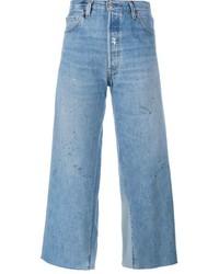 Jeans a campana azzurri di RE/DONE
