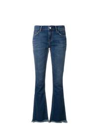 Jeans a campana blu scuro di Current/Elliott
