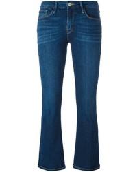 Jeans a campana blu scuro di Frame