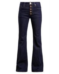 Jeans a campana blu scuro di Michael Kors