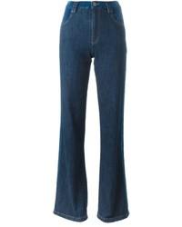 Jeans a campana blu scuro di See by Chloe