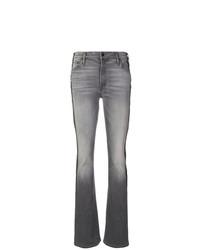Jeans a campana grigi di Mother