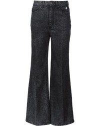 Jeans a campana neri di Marc Jacobs
