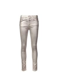 Jeans aderenti argento di Rag & Bone