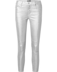 Jeans aderenti argento di RtA