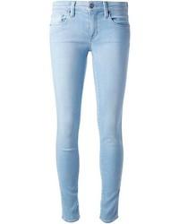 Jeans aderenti azzurri