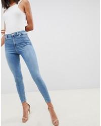 Jeans aderenti azzurri di ASOS DESIGN