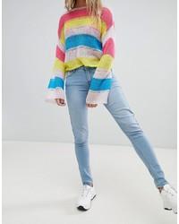 Jeans aderenti azzurri di Criminal Damage