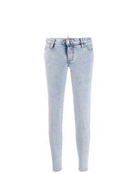 Jeans aderenti azzurri di Dsquared2