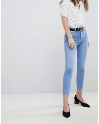 Jeans aderenti azzurri di New Look