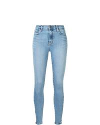 Jeans aderenti azzurri di Nobody Denim