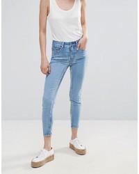 Jeans aderenti azzurri di Pieces