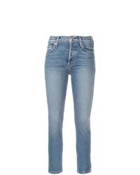 Jeans aderenti azzurri di RE/DONE