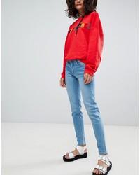 Jeans aderenti azzurri di Uncivilised