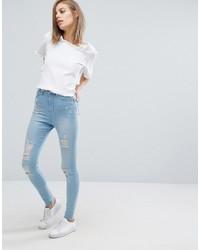 Jeans aderenti azzurri di WÅVEN