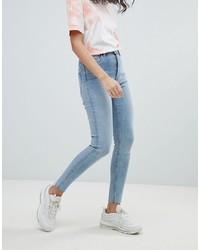 Jeans aderenti azzurri di Weekday