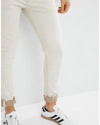 Jeans aderenti beige di ASOS DESIGN