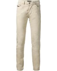 Jeans aderenti beige di Diesel Black Gold