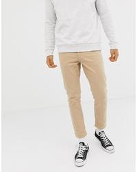 Jeans aderenti beige di New Look