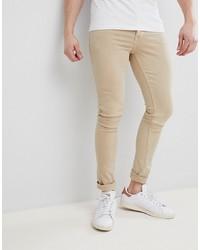 Jeans aderenti beige di Saints Row