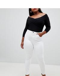 Jeans aderenti bianchi di Asos Curve