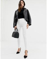 Jeans aderenti bianchi di ASOS DESIGN