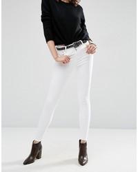 Jeans aderenti bianchi di Asos