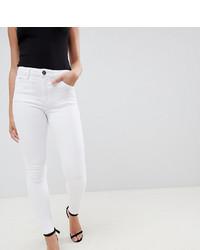 Jeans aderenti bianchi di Asos Petite