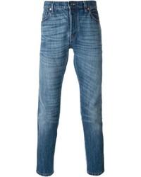 Jeans aderenti blu