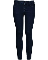 Jeans aderenti blu scuro