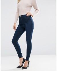 Jeans aderenti blu scuro di Asos