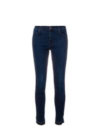 Jeans aderenti blu scuro di J Brand