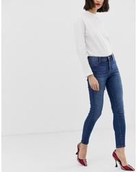 Jeans aderenti blu scuro di Mango
