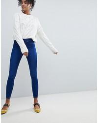 Jeans aderenti blu scuro di New Look